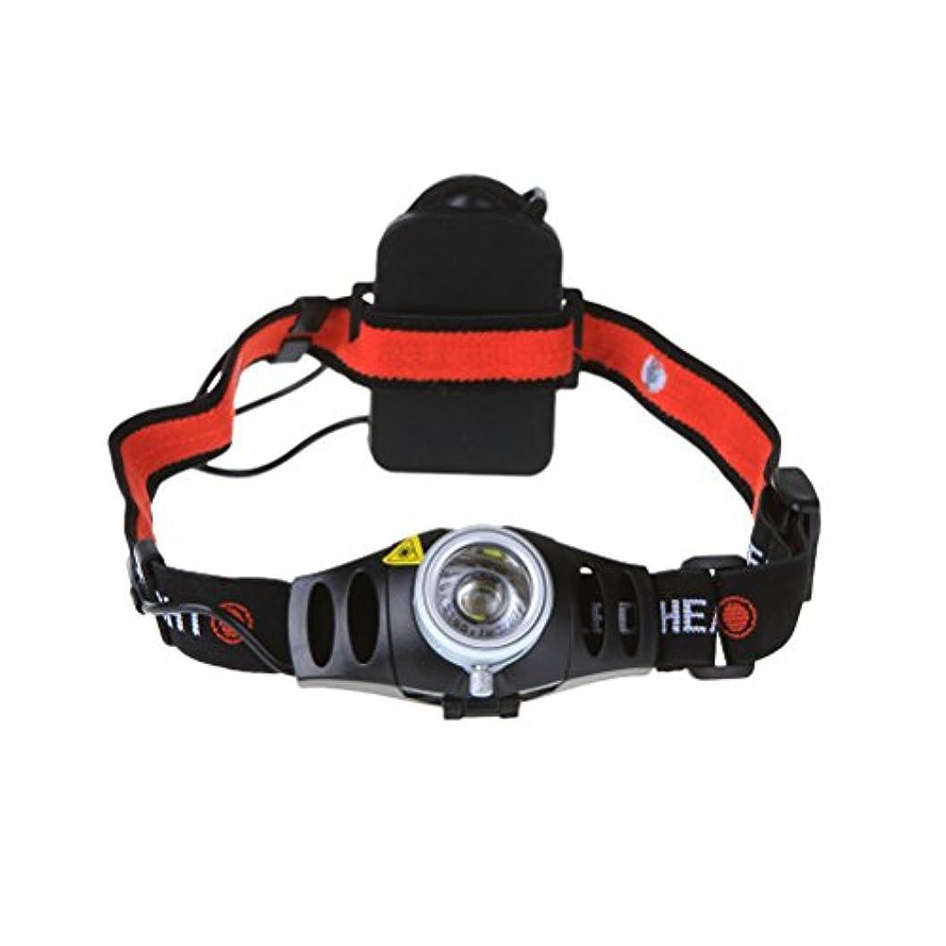 シルエット救出適用するVORCOOL ハイライトキャンプを実行するための2つの照明モードでLEDヘッドライト調節可能な500ルーメンスーパーブライトヘッドライト釣り狩猟ジョギング