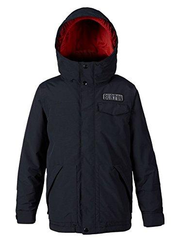 Burton(バートン) スノーボード ウェア ジュニア ボーイズ キッズ ジャケット BOYS' DUGOUT JACKET Lサイズ True Black 146140 成長に対応するRoom-To-Grow™システム採用