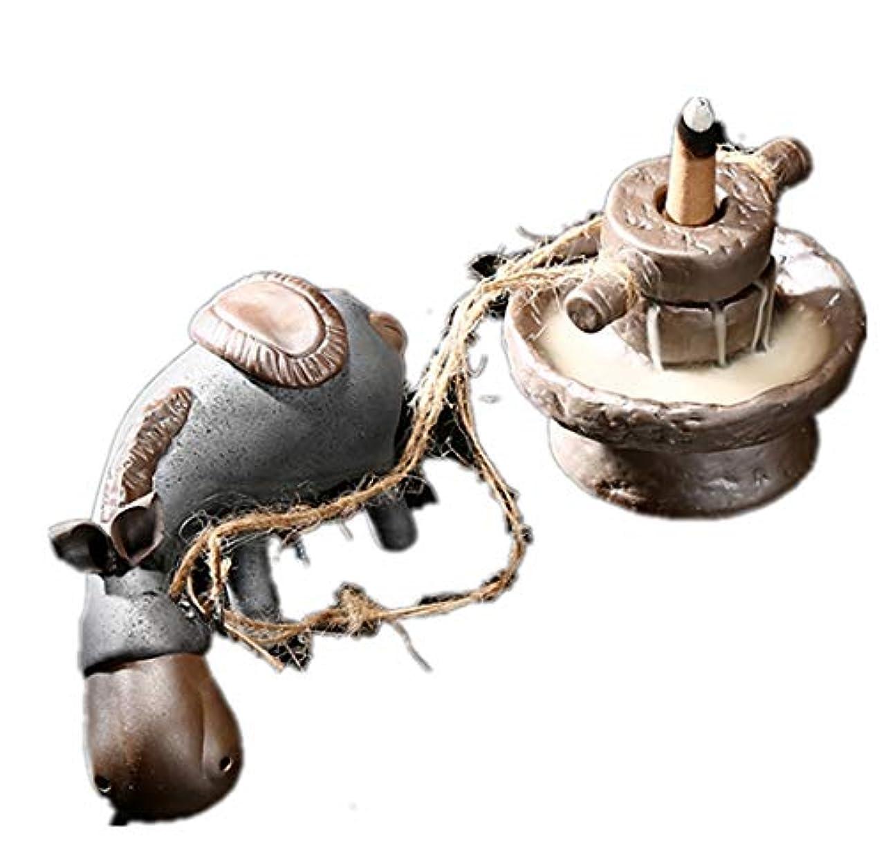 雷雨地雷原支配するXPPXPP Reflux Incense Burner, Ceramic Incense Burner, With 10pcs Reflux Cone, Suitable For Home Decoration