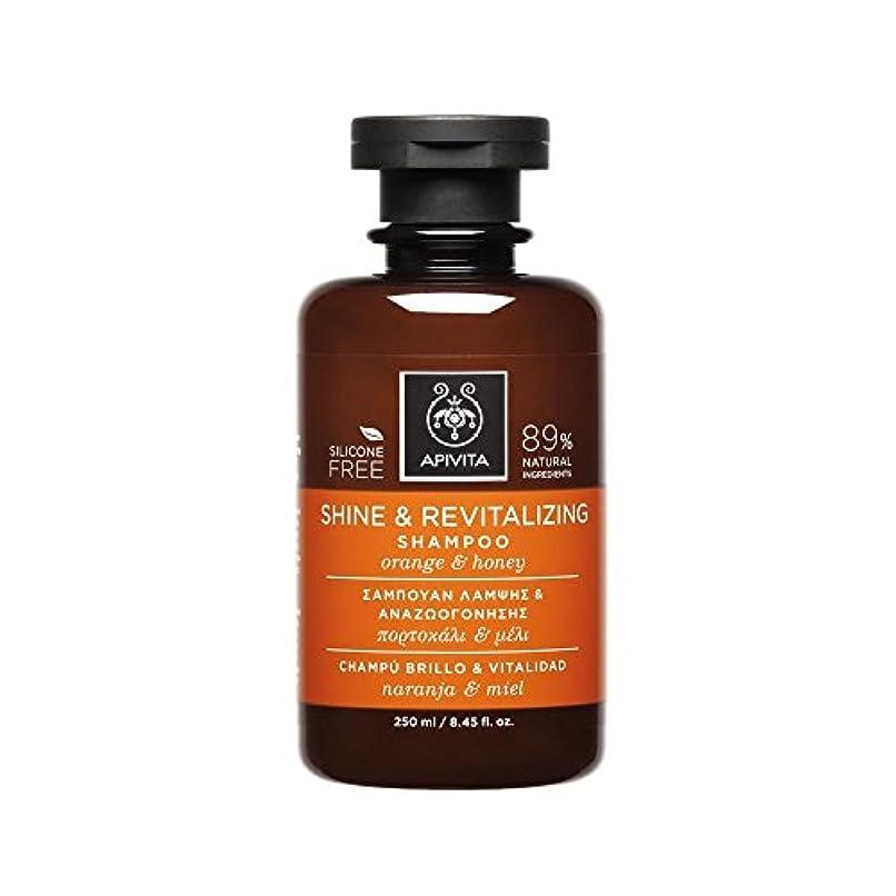 取り除く致命的発明するアピヴィータ Shine & Revitalizing Shampoo with Orange & Honey (For All Hair Types) 250ml [並行輸入品]