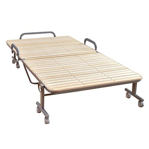 タンスのゲン ベッド下収納も出来る ワイドハイタイプ すのこベッド 33枚 シングル ナチュラル 17700002 NA