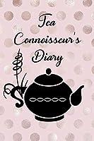Tea Connoisseur's Diary: Rose Gold Log-Book for Tea Lover's