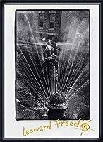 ポスター レナード フリード Harlem New York/Freed 額装品 ウッドハイグレードフレーム(ネイビー)
