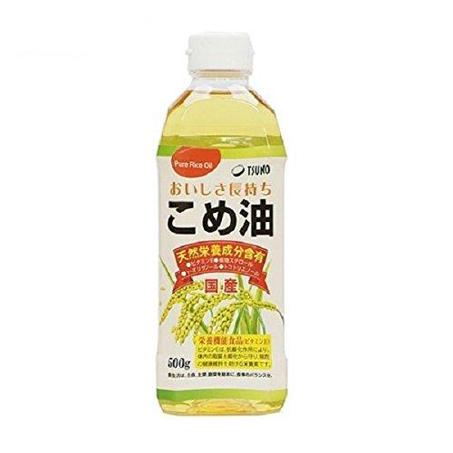 【まとめ買い×4】TSUNO こめ油 500g 米油 ×4