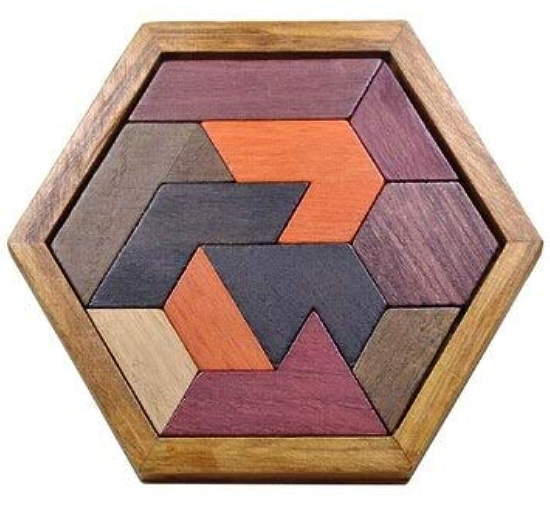 IQ 木製パズル 頭の体操 パズル ボードゲーム 大人 子供用
