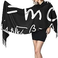数式数学と物理学2女性の毛布スカーフファッションスカーフ暖かいラップショールケープクリスマスギフトの母のガールフレンドの姉妹