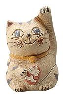 円な瞳招き猫(人招き) 香炉(中) [ H14cm ] 【 香炉 】 【 HANDMADE 置物 インテリア ギフト プレゼント 】