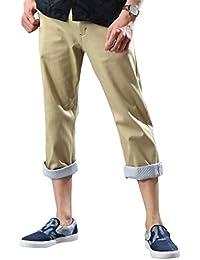 [リピード REPIDO] クロップドパンツ チノパン ベルト付き メンズ ベルト パンツ チノパンツ