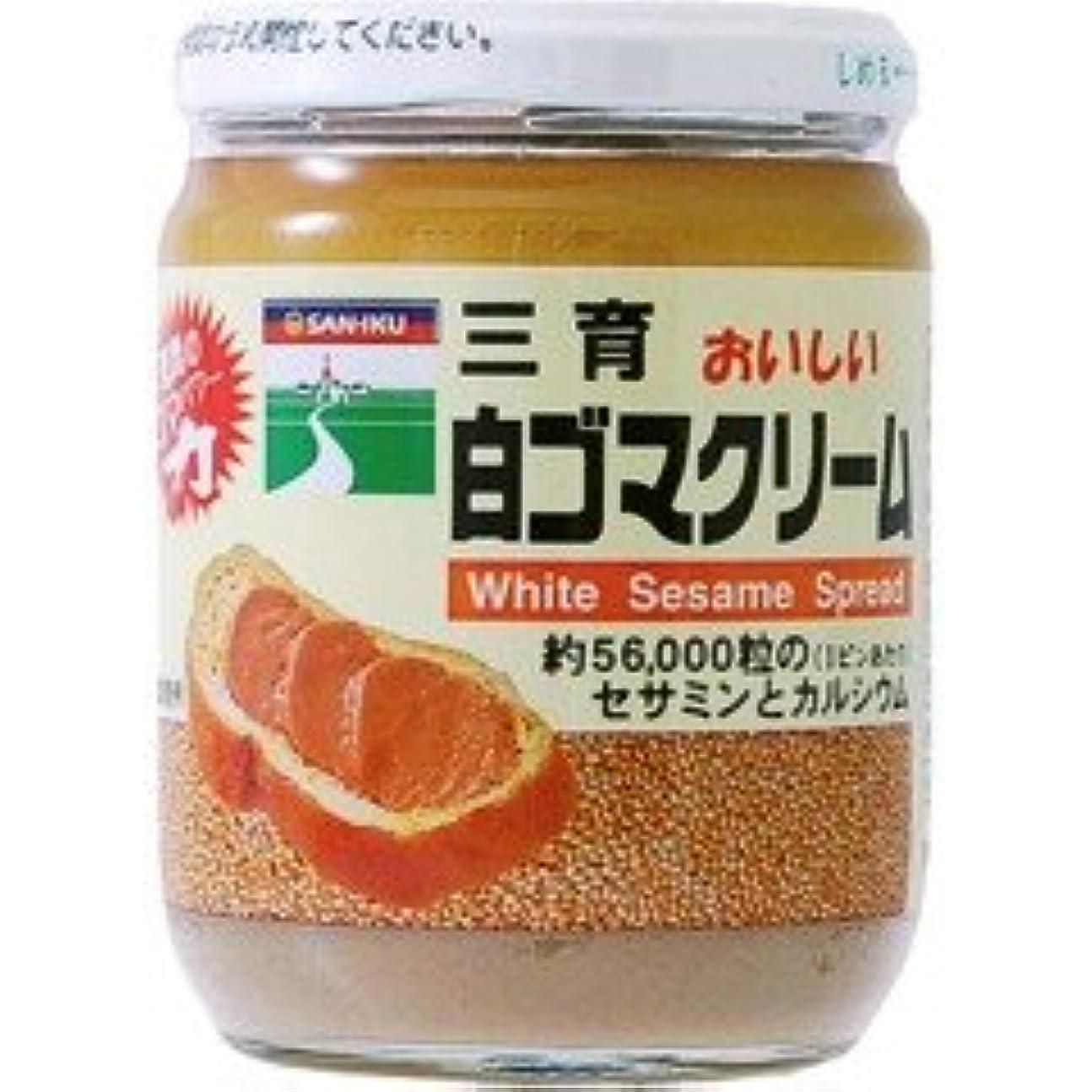 記念クレジット観客〔ムソー/三育〕白ゴマクリーム190g 6セット