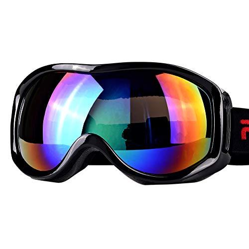 Boonor スキーゴーグル スノボーゴーグル 紫外線防止 ...