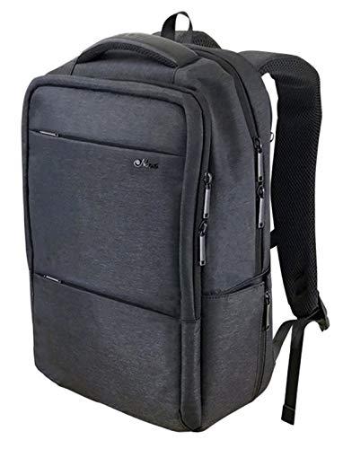 [Nani] リュック 防水 スクエアリュック ビジネスリュック メンズ 大容量 PCバッグ(ダークグレー)