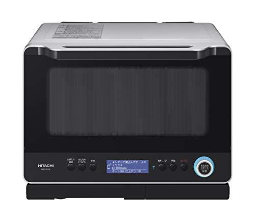 日立 スチームオーブンレンジ 30L 過熱水蒸気 Wスキャン調理 ヘルシーシェフアプリ MRO-W10X H
