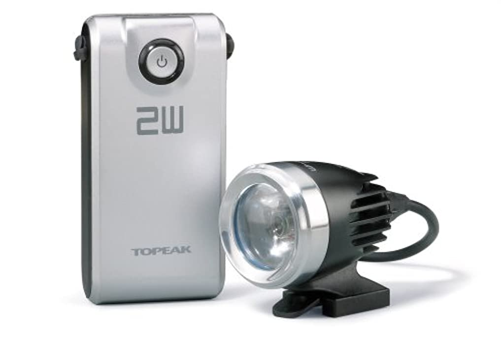 餌手がかりに負けるtopeak(トピーク) ホワイトライト HP 2W LPF065