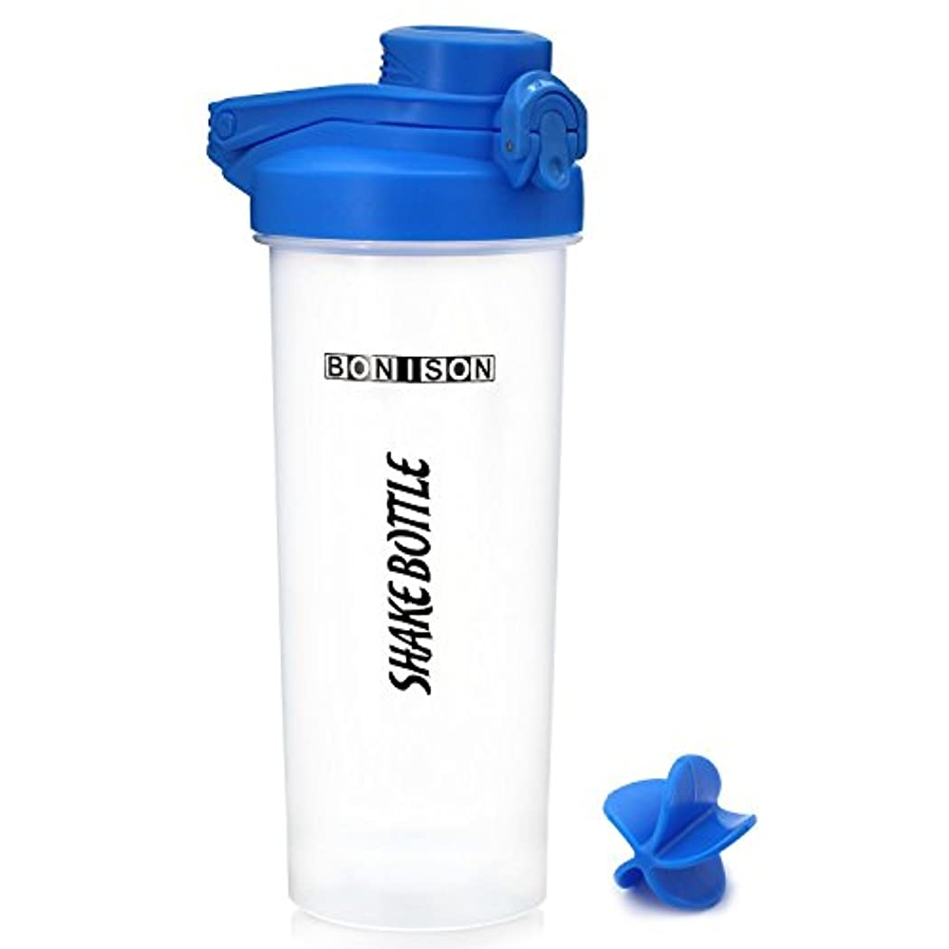 水分薬電気的最新24オンスツイストキャップShakeボトルBPAフタル酸とプラスチックMixer ProteinスムージーShakesパウダーMix Shaker Bottle with Hanldle COMIN18JU084934