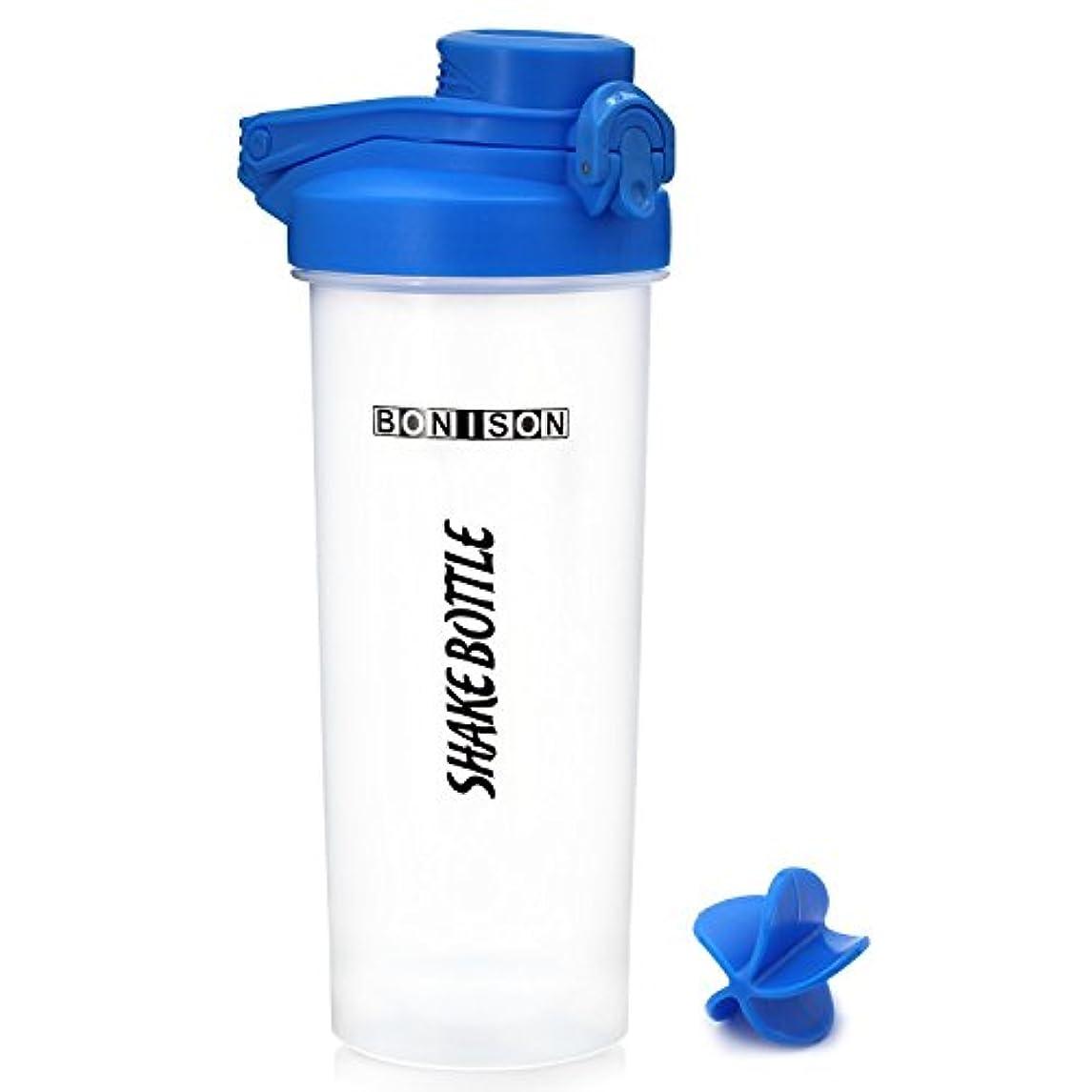 メロドラマ幼児扇動最新24オンスツイストキャップShakeボトルBPAフタル酸とプラスチックMixer ProteinスムージーShakesパウダーMix Shaker Bottle with Hanldle COMIN18JU084934