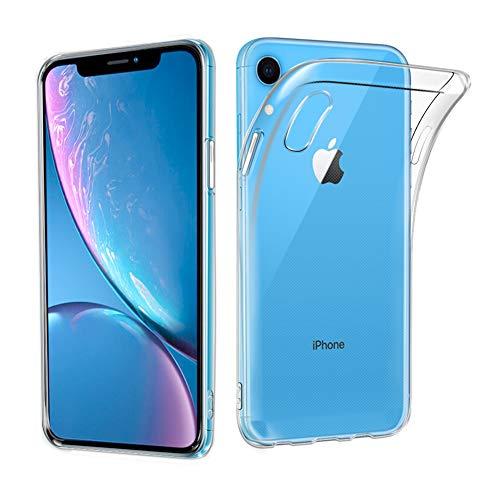 iPhone XR ケース A-VIDET 衝撃吸収バンパー アンチスクラッチ クリスタル ソフト 高品質TPU素材製ケース iPhone XR スマートフォン対応 (クリア)