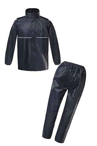 [해외]BEATON JAPAN 레인 코트 레인 레인 카파 상하 세트 남성/BEATON JAPAN Raincoat Rainwear Rain Suit Kappa Set Down and Down Men`s