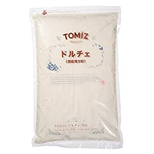 ドルチェ(江別製粉) / 3kg TOMIZ/cuoca(富澤商店) 小麦粉 薄力小麦粉 国産 薄力粉