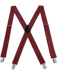 RSG Suspender ACCESSORY メンズ US サイズ: X-Large カラー: レッド