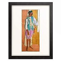 アンリ・マティス Henri Matisse 「Marokkaner mit roten Hosen. 1911」 額装アート作品