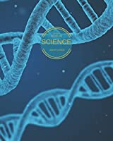 Science: One Subject Graph Paper Study Notebook for Science DNA Blue