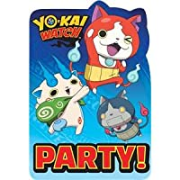 Yo-Kai Watch Party Invitation Cards