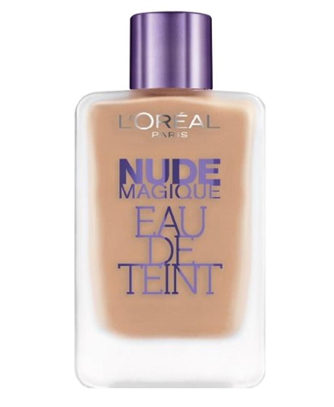 ダッシュブラスト勧告L'oreal Font de Teint Nude Magique Eau de Teint - 190 Beige Rosé