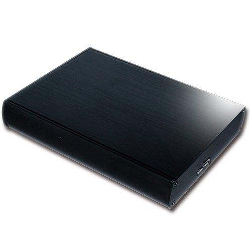 MARSHAL 外付け ハードディスク 2TB ポータブル HDD USB3.0/2.0 【簡単接続】 テレビ録画対応 バスパワー 放熱性に優れたアルミボディ MAL22000H2EX3-MK