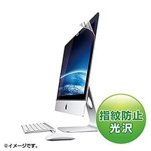 SANWA SUPPLY iMac21.5型ワイド用ブルーライトカット液晶保護フィルム LCD-IM215BC