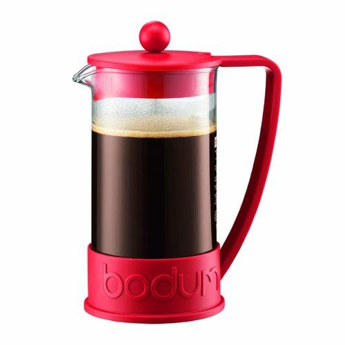 BODUM ボダム BRAZIL フレンチプレスコーヒーメーカー 1.0L レッド 10938-294