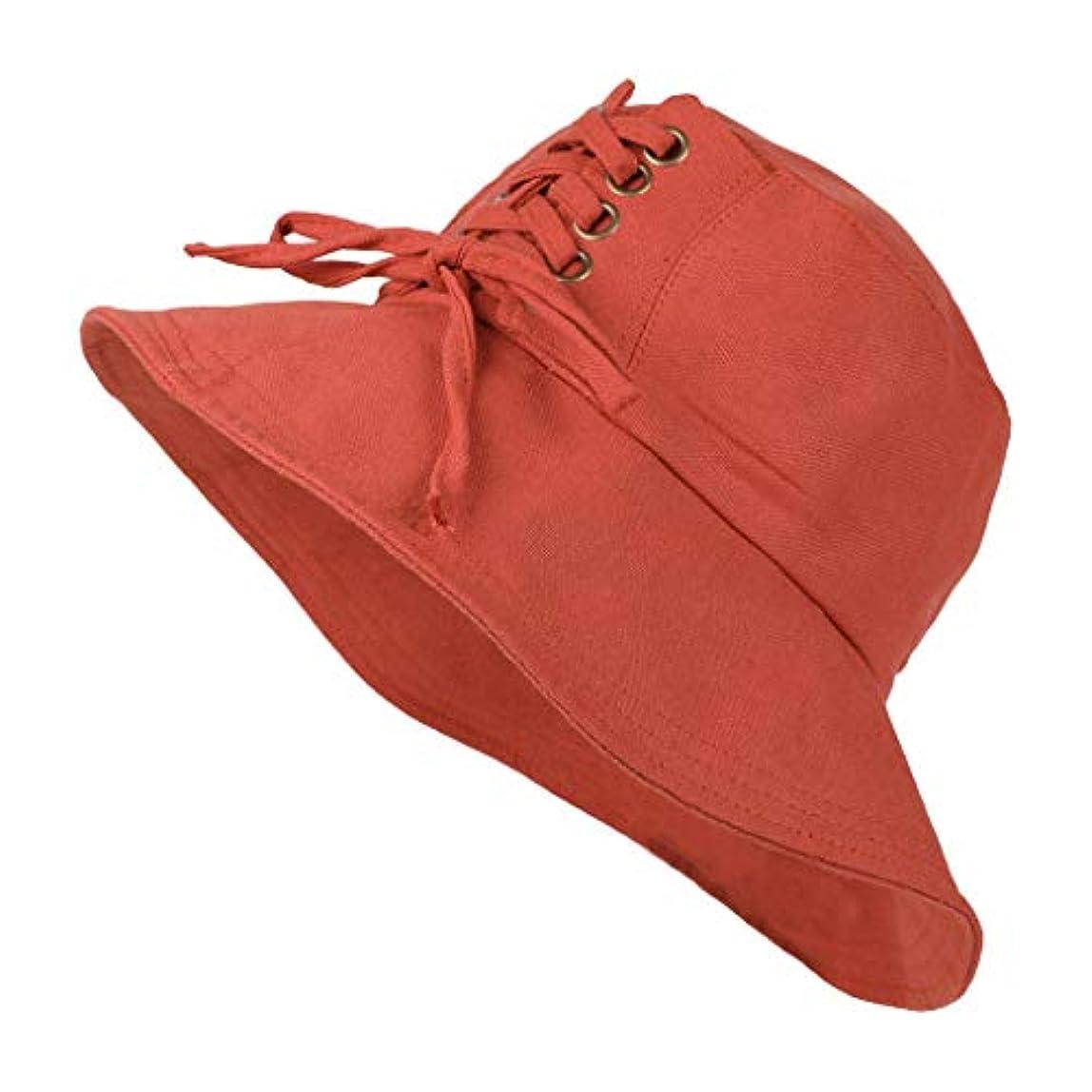 電話に出るナラーバー保守的UVカット 帽子 レディース 日よけ 帽子 レディース ハット つば広 ハット日よけ 折りたたみ 夏季 女優帽 小顔効果抜群 日よけ 小顔 UV対策 おしゃれ 可愛い ハット ニット帽 キャップ レディース ROSE ROMAN
