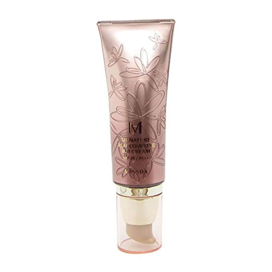 チャンバー教傷つきやすいMissha Signature Real Complete Bb Cream Fps25/pa++ No.13 Light Milky Beige 45g [並行輸入品]