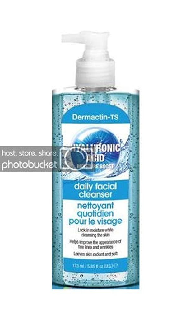 写真を撮る無臭害Dermactin-TS モイスチャーブースターヒアルロン酸フェイシャルクレンザー5.85 oz (6パック) (並行輸入品)
