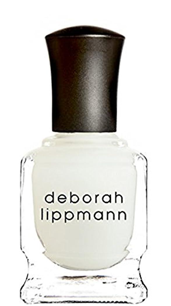 チャット縁石負荷[Deborah Lippmann] デボラリップマン フラット トップ マット メーカー トップ コート FLAT TOP トップコート マット仕上げになるトップコートです さらっとして塗りやすく、お手持ちのネイルを ひと味違う質感で楽しめます 容量15mL