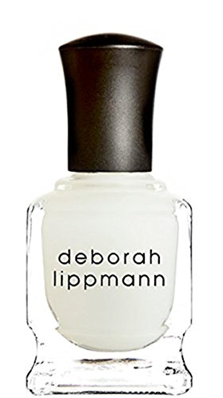 明確なリボン熟す[Deborah Lippmann] デボラリップマン フラット トップ マット メーカー トップ コート FLAT TOP トップコート マット仕上げになるトップコートです さらっとして塗りやすく、お手持ちのネイルを...