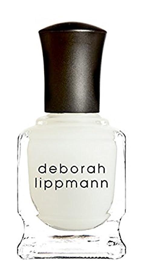 実際匹敵しますローン[Deborah Lippmann] デボラリップマン フラット トップ マット メーカー トップ コート FLAT TOP トップコート マット仕上げになるトップコートです さらっとして塗りやすく、お手持ちのネイルを...