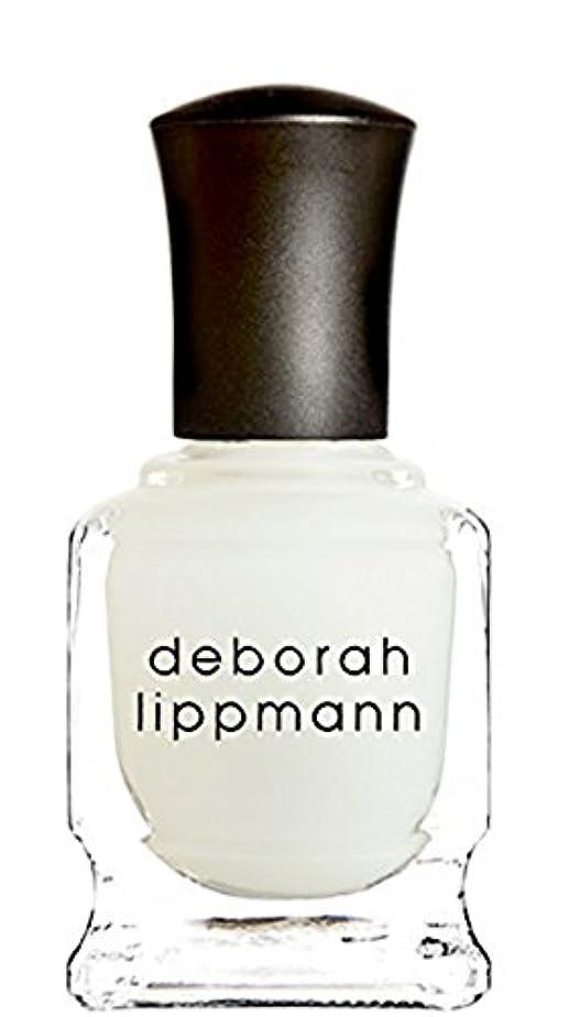 勧告類人猿機械的に[Deborah Lippmann] デボラリップマン フラット トップ マット メーカー トップ コート FLAT TOP トップコート マット仕上げになるトップコートです さらっとして塗りやすく、お手持ちのネイルを...