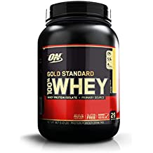 Optimum Nutrition Gold Standard 1 Whey Banana Protein Powder, 909 Grams