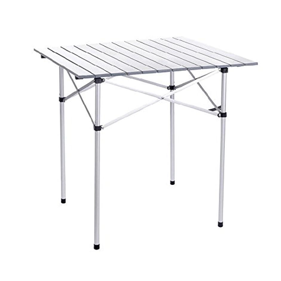 Sviper アウトドア 折りたたみ式 ノートパソコン キャンプ 折りたたみ式テーブル/アルミニウム合金 ピクニックテーブル