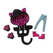 コトブキヤ キューポッシュえくすとら あにまるパーカーセット 黒猫 ノンスケール フィギュア用アクセサリー