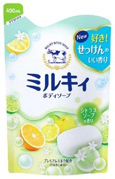 ミルキィ ボディソープ シトラスソープの香り 400ml [詰め替え用]