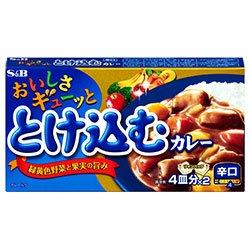 エスビー食品 S&B おいしさとけ込むカレー 辛口 140g×10個入×(2ケース)