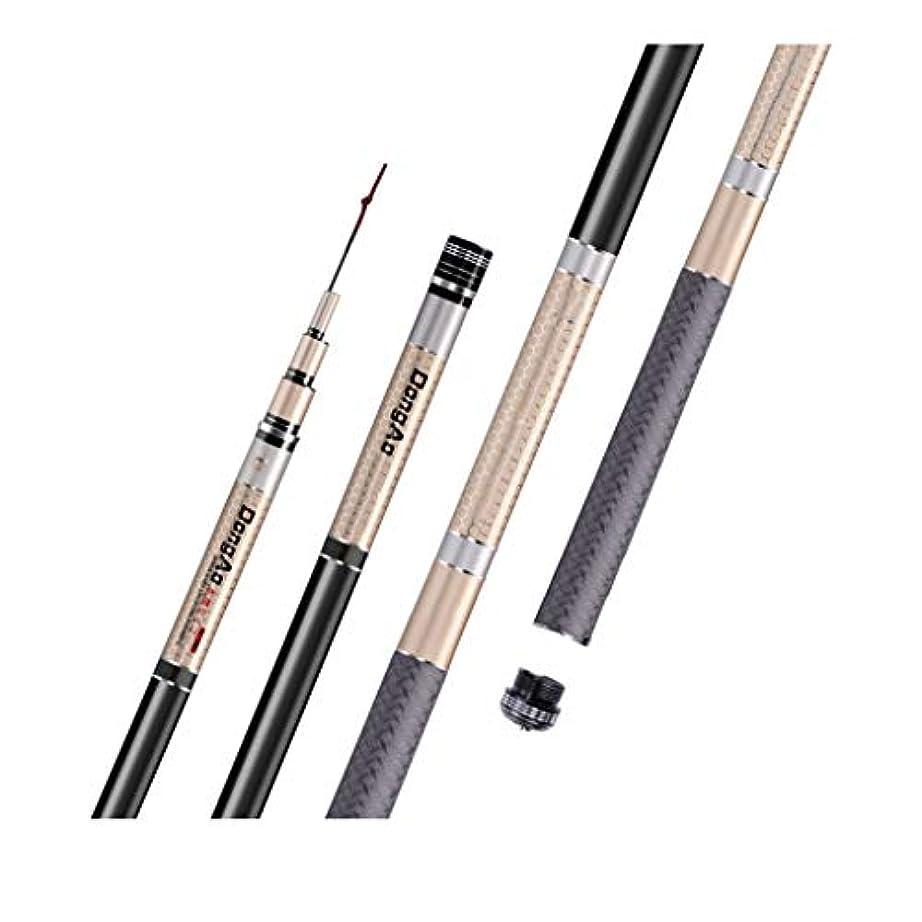 ヘルシーきちんとした粘着性釣り竿 釣竿ミニポータブル超軽量と超硬炭素8H19調節可能なテレスコピック釣竿