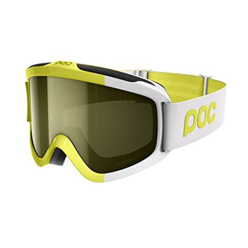 (Regular, Hexane Yellow) - POC Sports Iris Comp Goggles