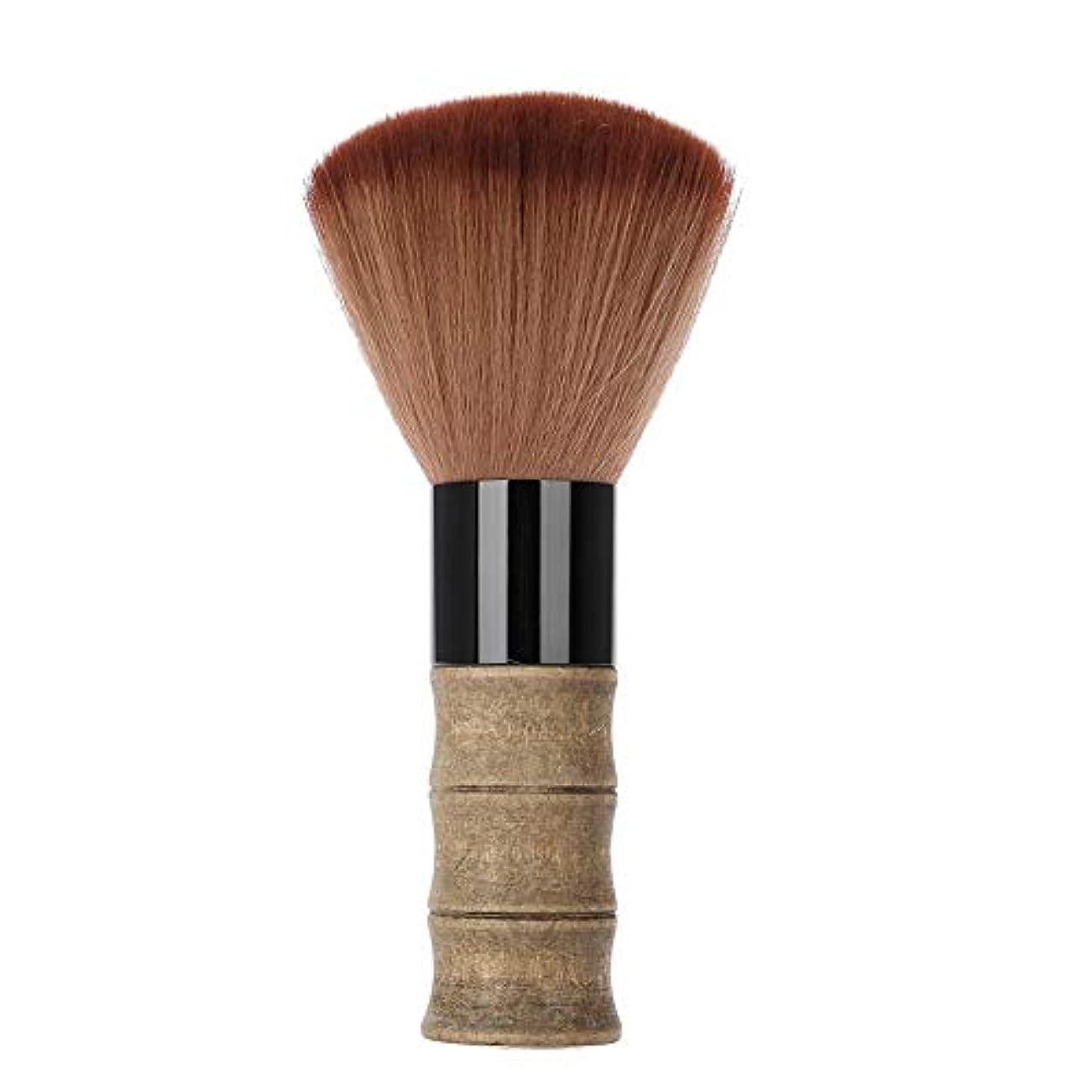 情報ステレオタイプ弓ヘアブラシ ヘアカット ヘアスポンジ ネック理髪店 掃除前髪 美容院 家用 携帯用