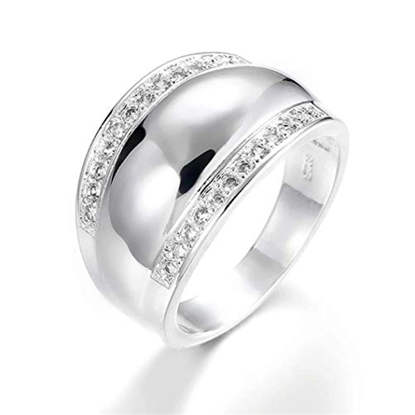 ラビリンス評判喪Sperrinsサージカル ステンレス メンズ リング 指輪 結婚 指輪 ラインストーン フルエタニティ 男性用指輪 (8)