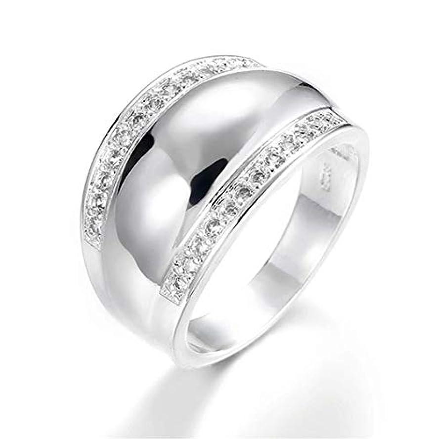 国勢調査パンマングルSperrinsサージカル ステンレス メンズ リング 指輪 結婚 指輪 ラインストーン フルエタニティ 男性用指輪 (8)