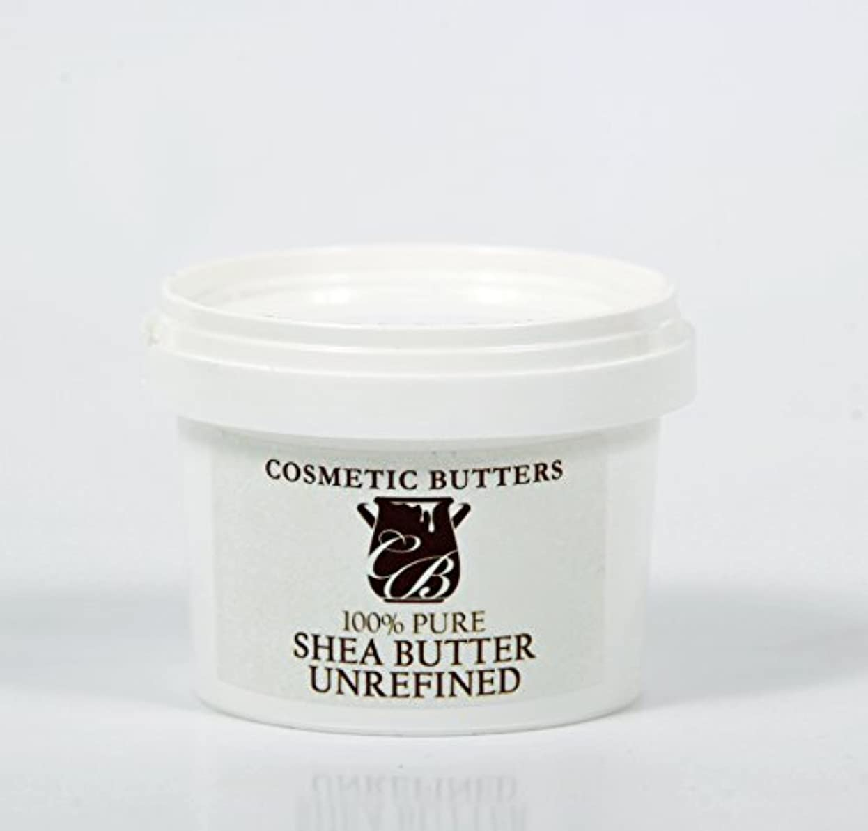 作りボウリング手つかずのShea Butter Unrefined Organic - 100% Pure and Natural - 100g