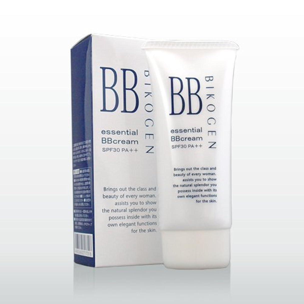 インタフェース硬い熱心ビコーゲン エッセンシャルBBクリーム40g(ナチュラル)