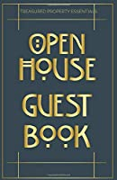 Open House Guest Book: Craftsman Style